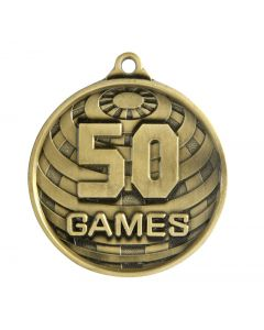 Global Gold Games Medallion