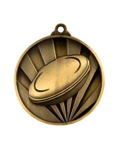 Rugby 50mm Rays Medallion