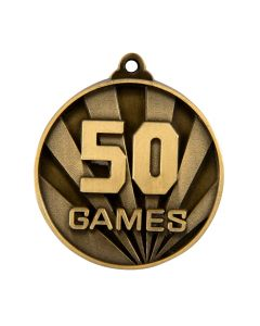Rays Gold Games Medallion