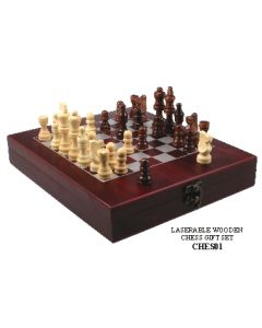 Wooden Chess Gift Set