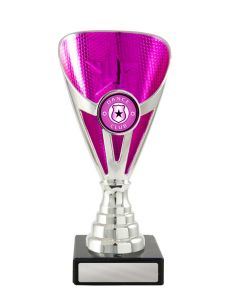 Arianna Cup Silver-Pink