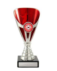Arianna Cup Silver-Red