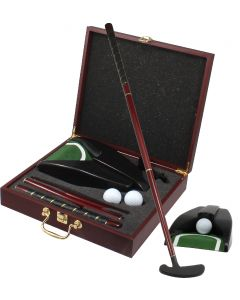 Wooden Golf Gift Set