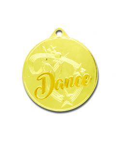 Yellow Gold Dance Medallion