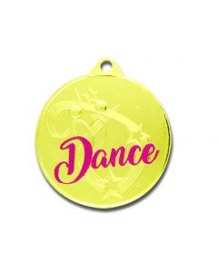 Pink Gold Dance Medallion